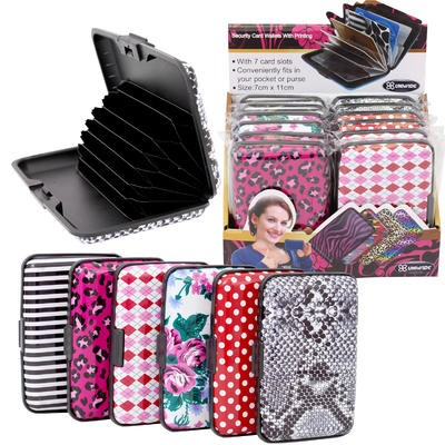 Plastic Wallet Display - Asst  4.25