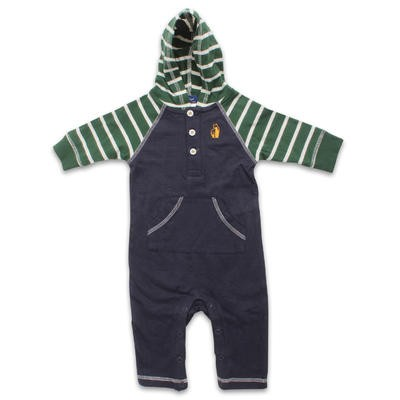 Blue Rugged Bear Coverall - Assorted