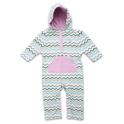 Rugged Bear Girls' Hooded Coverall - Assorted Size