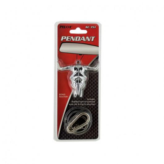 Bull Head Keychain/Auto Pendant