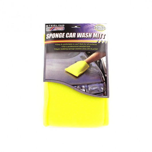 Sponge Car Wash Mitt