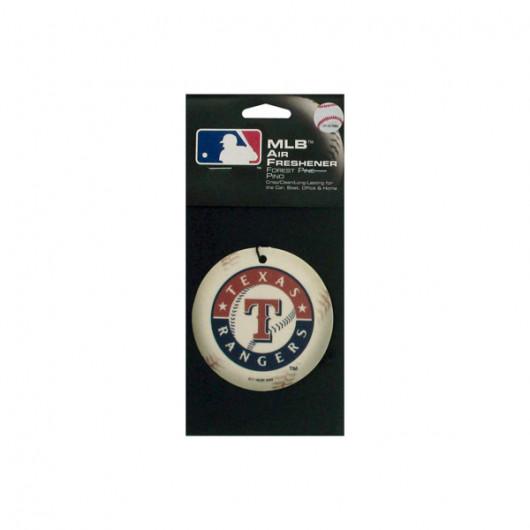 Texas Rangers baseball pine freshener