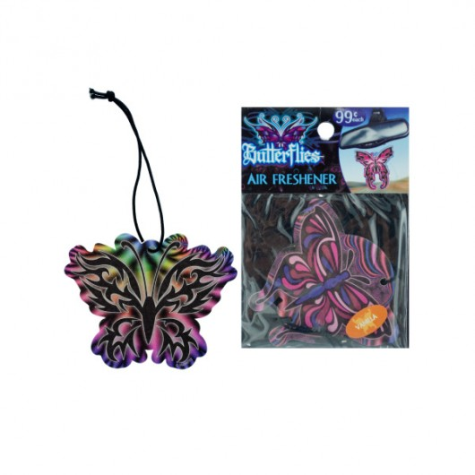 butterfly air freshener