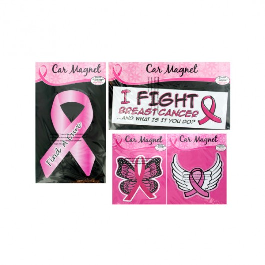 Breast Cancer Awareness Car Magnet