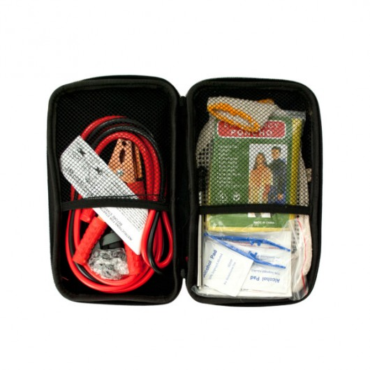 Vehicle Emergency Kit in Zippered Case