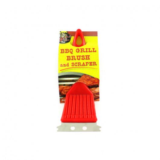 BBQ Grill Brush & Scraper