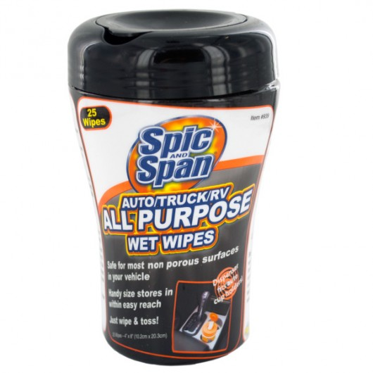 Spic & Span All Purpose Auto/Truck/RV Wet Wipes
