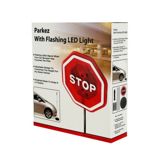 Flashing LED Light Parking Safety Sensor