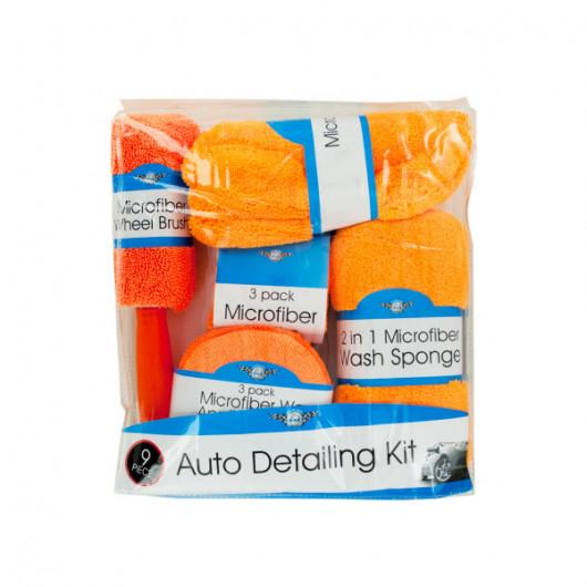 Microfiber Car Wash & Detailing Kit