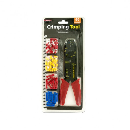 Crimping Tool & Terminals Set