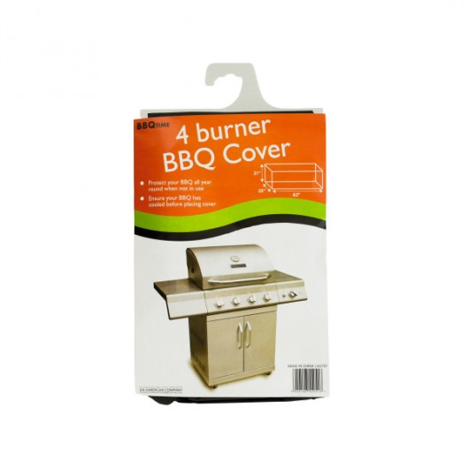 4 Burner Barbecue Cover