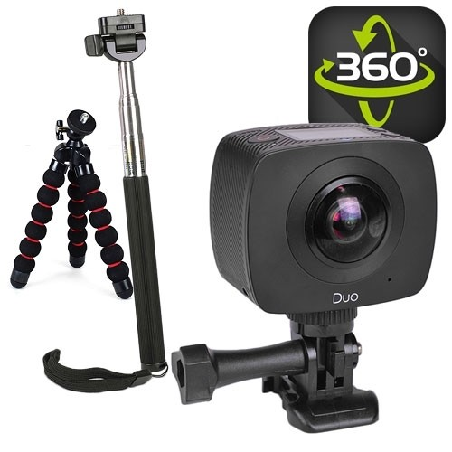 Jolt Duo 360 Sports Action camera