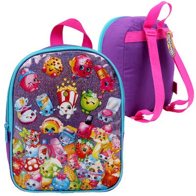 "Shopkins Purple Mini Backpack - 10""H"
