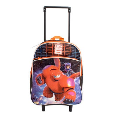 "Disney Big Hero 6 Backpack with Wheels - 12""H"