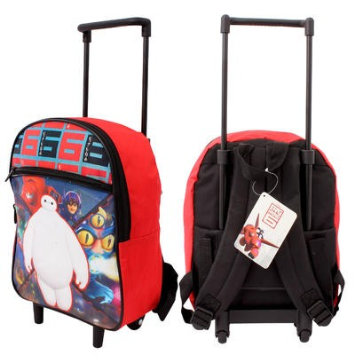 Disney Big Hero 6 Backpack with Wheels - 14""