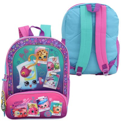 "Girls' Shopkins Backpack with Hologram -17""H"