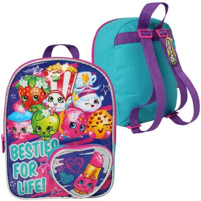 "Shopkins Mini Turquoise Backpack - 10""H"