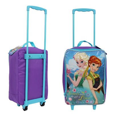 "Disney Frozen Purple Rolling Pilot Case - 18.5""H"