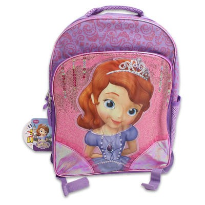 "Sofia the First Backpack with Lights - 16""H"
