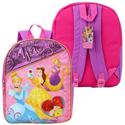 "Disney Princess Backpack - 16""H"
