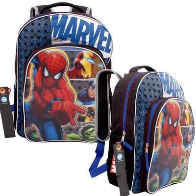 """Marvel Avengers Backpack - Blue  16""""H"""
