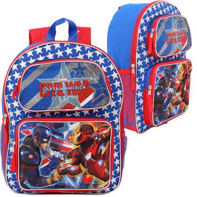 Captain America Civil War 3D Lenticular Backpack