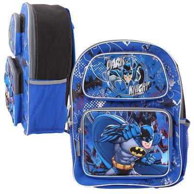 "Batman 3D Pop-Up Lenticular Backpack - 16"""