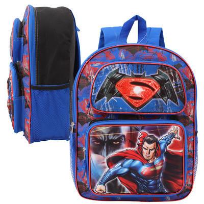"Batman v Superman 3D Lenticular Backpack-Asst  16"""