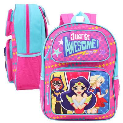 """DC Super Hero Girls Pop-Up Backpack - 16""""H"""