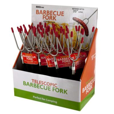 Telescopic Barbecue Fork Countertop Display