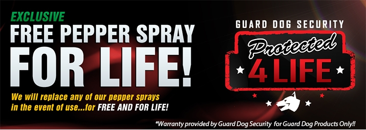 Lifetime Pepper Sprays Refill